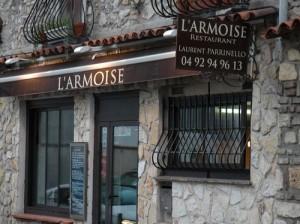 restaurant L'Armoise - Antibes