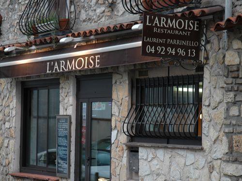 restaurant l armoise antibes le blog de nicolas. Black Bedroom Furniture Sets. Home Design Ideas
