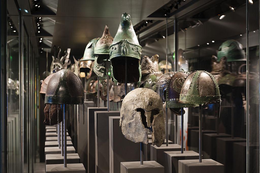 La plus grande collection d'armures antiques du monde