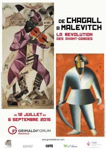 De Chagall à Malevitch - la révolution des avant-gardes