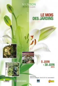 Le mois des jardins Menton édition 2015