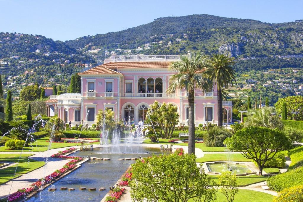 Villa Ephrussi de Rothschild Fête des roses et des plantes 2016