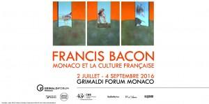 Exposition Francis Bacon au Grimaldi Forum été 2016