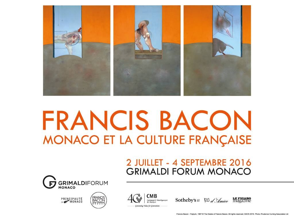 Expo Francis Bacon 2016 Grimaldi Forum Monaco