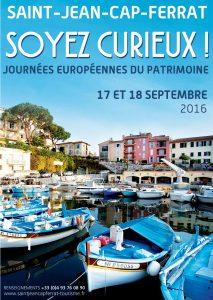 Journées du patrimoine 2016 à Saint-Jean-Cap-Ferrat