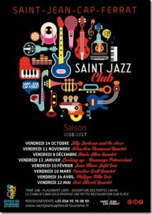 Saint Jazz Club - Programmation