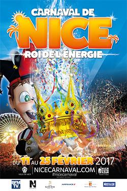 Carnaval de Nice 2017 - Roi de l'énergie