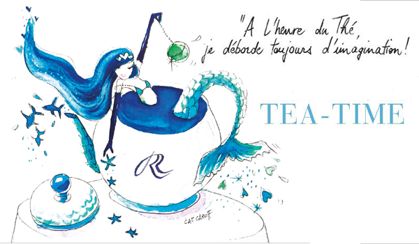 Afternoon Tea au Royal-Riviera, St Jean Cap Ferrat