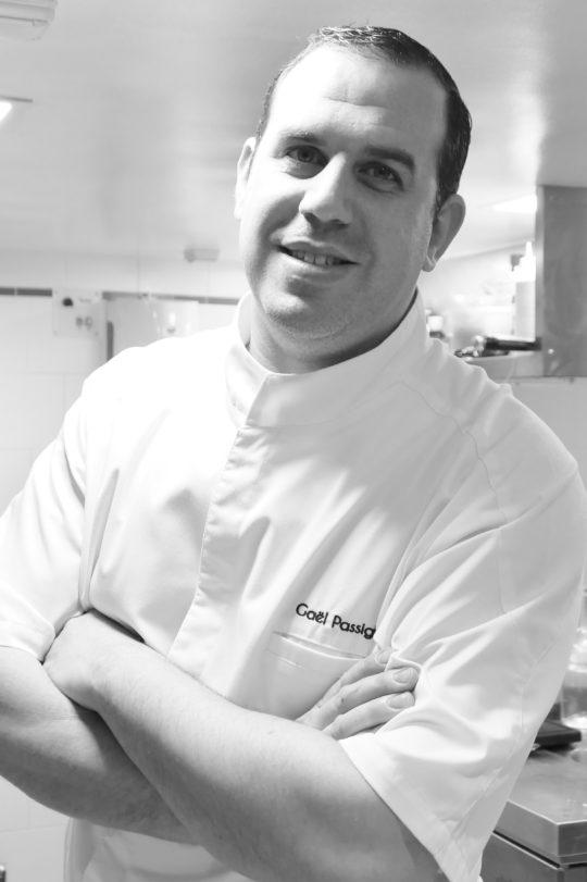 Chef Gaël Passigli - restaurant le Panier