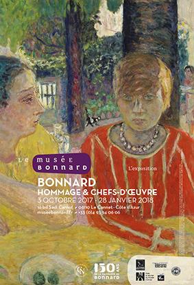 Exposition musée Bonnard 2017-2018