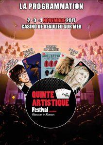 Festival la Quinte Artistique - Casino de Beaulieu-sur-mer