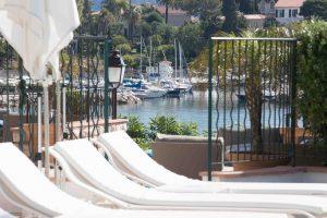 Piscine de l'hôtel Royal-Riviera