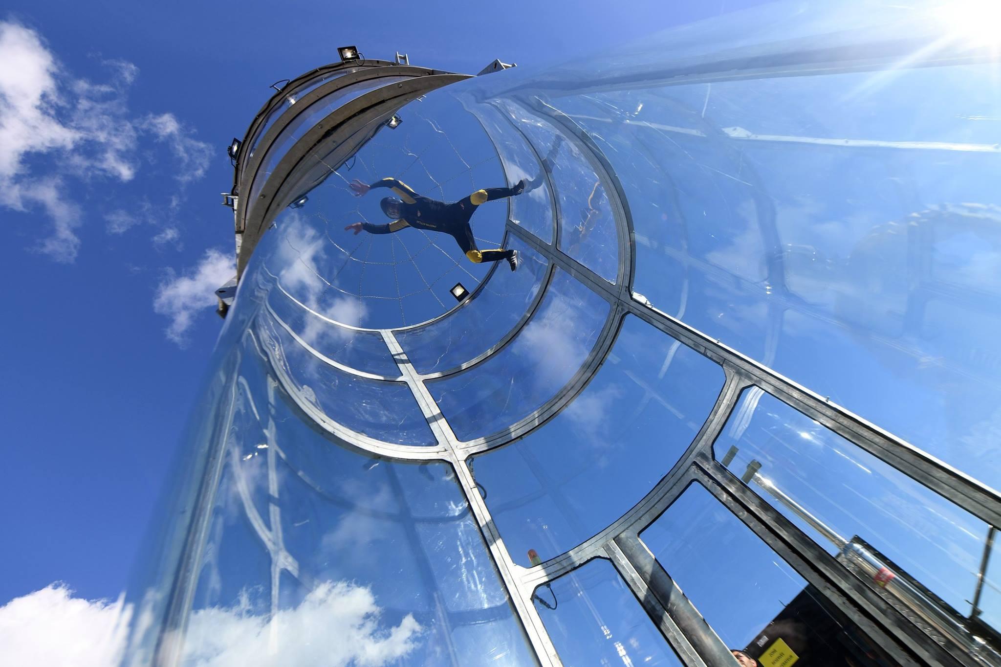 Simulateur de chute libre à Beausoleil