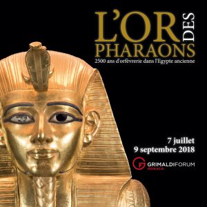 Exposition L'or des pharaons - Grimaldi Forum Monaco