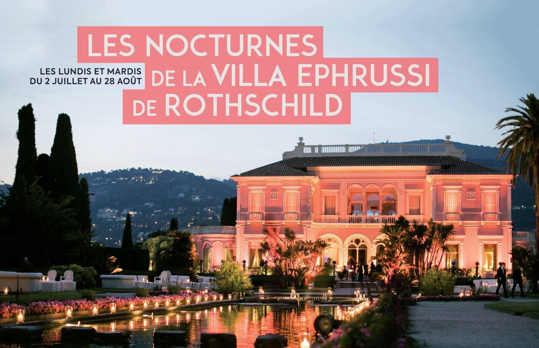 Villa Rothschild nocturne