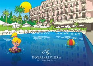 Les enfants au Royal-Riviera CapFerrat