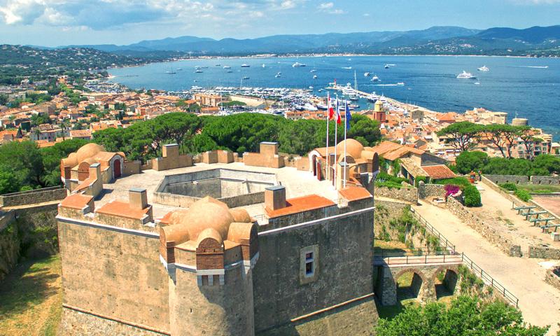 The Côte d'Azur on a larger scope