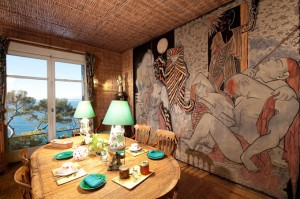 villa santo sospir, St-Jean-Cap-Ferratsalle à manger