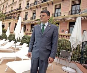 Nicolas Amelot Chef Concierge du Royal-Riviera