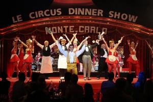Circus dinner Monte-Carlo