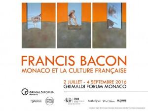 Expo Francis Bacon 2016 Grimaldi Forum Monaco