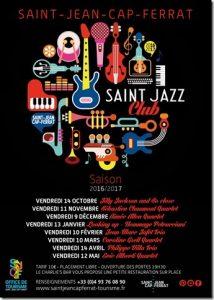 Saint Jazz Club - Programmation